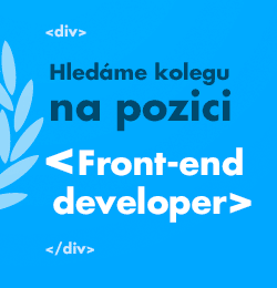 Front-end developer - tvorba HTML + Javascriptu